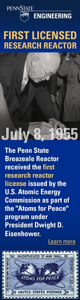 First Licensed Research Reactor July 8th 1955